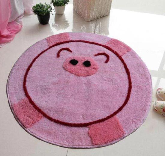 网友力荐十款可爱创意地毯尼龙膜